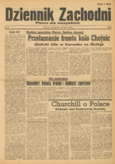 Dziennik Zachodni, 1945, R. 1, Nr. 21