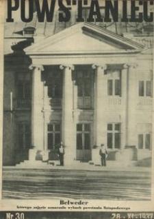 Powstaniec, 1937, R. 11, nr 30