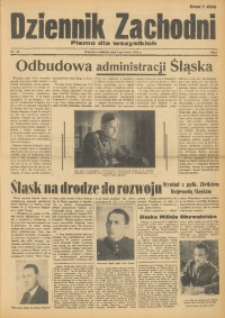 Dziennik Zachodni, 1945, R. 1, Nr. 24