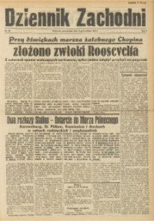 Dziennik Zachodni, 1945, R. 1, Nr. 62
