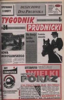 Tygodnik Prudnicki : gazeta powiatowa : Prudnik, Biała, Korfantów, Głogówek, Lubrza. R. 9, nr 24 (395).