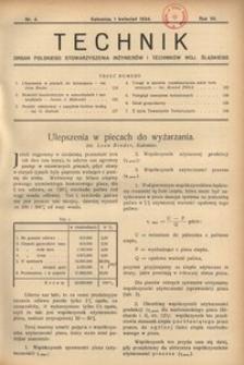 Technik, 1934, R. 7, nr 4