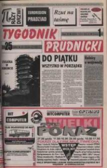 Tygodnik Prudnicki : gazeta powiatowa : Prudnik, Biała, Korfantów, Głogówek, Lubrza. R. 9, nr 25 (396).