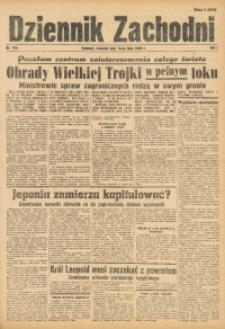 Dziennik Zachodni, 1945, R. 1, Nr. 153
