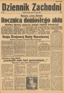 Dziennik Zachodni, 1945, R. 1, Nr. 156