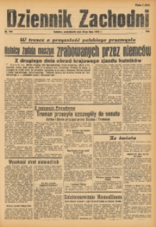 Dziennik Zachodni, 1945, R. 1, Nr. 164