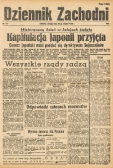 Dziennik Zachodni, 1945, R. 1, Nr. 177