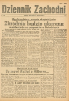Dziennik Zachodni, 1945, R. 1, Nr. 263