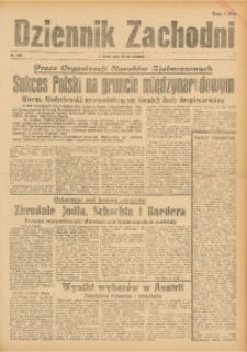 Dziennik Zachodni, 1945, R. 1, Nr. 285