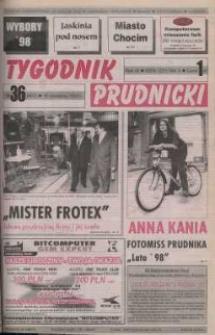 Tygodnik Prudnicki : gazeta powiatowa : Prudnik, Biała, Korfantów, Głogówek, Lubrza. R. 9, nr 36 (407).