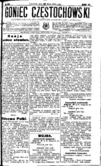 Goniec Częstochowski, 1916, R. 11, No 118