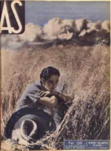 As. Ilustrowany magazyn tygodniowy, 1936, R. 2, nr 28