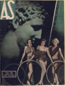 As. Ilustrowany magazyn tygodniowy, 1936, R. 2, nr 31