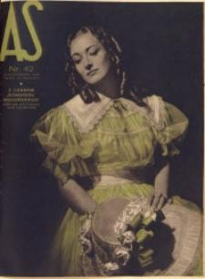 As. Ilustrowany magazyn tygodniowy, 1936, R. 2, nr 42