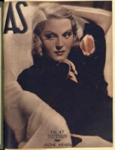 As. Ilustrowany magazyn tygodniowy, 1936, R. 2, nr 47