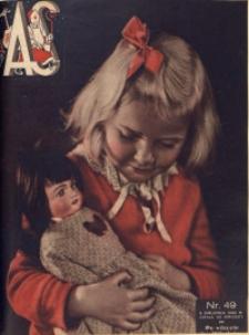 As. Ilustrowany magazyn tygodniowy, 1936, R. 2, nr 49
