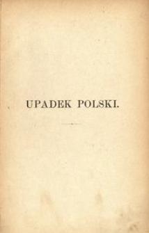 Upadek Polski w literaturze historycznej