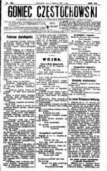 Goniec Częstochowski, 1917, R. 12, No 48
