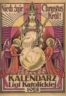 Kalendarz Ligi Katolickiej 1928, R. [3]