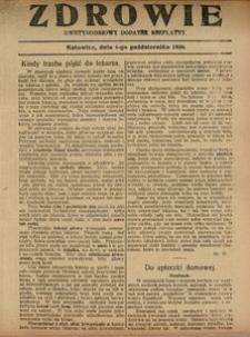 Zdrowie, 1 października 1926