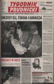 Tygodnik Prudnicki : gazeta powiatowa : Prudnik, Biała, Głogówek, Lubrza. R. 10, nr 10 (433).