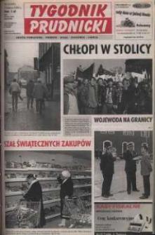 Tygodnik Prudnicki : gazeta powiatowa : Prudnik, Biała, Głogówek, Lubrza. R. 10, nr 12 (435)..