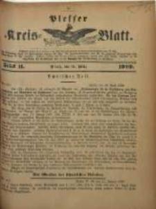 Plesser Kreis-Blatt, 1909, St. 11