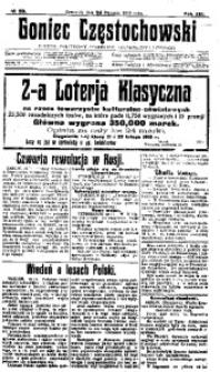 Goniec Częstochowski, 1918, R. 13, No 20