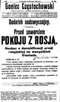 Goniec Częstochowski, 1918, R. 13, No 36