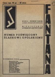 Fantana 1939, R. 2, nr 7/8