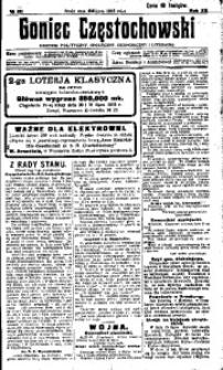 Goniec Częstochowski, 1918, R. 13, No 151