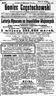 Goniec Częstochowski, 1918, R. 13, No 175
