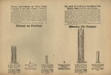 Drzewo sprowadzane na Górny – Śląsk pochodzi w znacznej mierze z Polski. = Das nach Oberschlesien eingeführte Holz stammt hauptsächlich aus Polen