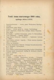 Dzwonek Częstochowski : pismo miesięczne, illustrowane, 1908, [R.8], [T.4] (77) - kwiecień