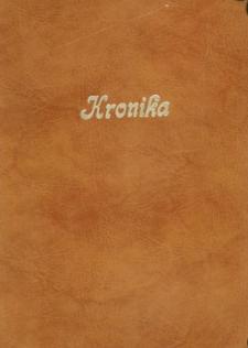 Głubczyce. Kronika Międzynarodowego Obozu w Głubczycach organizowanego przez ZSCKR. 23.07-12.08.2001 r.