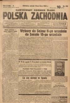 Polska Zachodnia, 1935, R. 10, nr 192