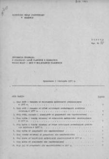 Informacja kwartalna o realizacji zadań planowych w rolnictwie według miast i gmin w woj. miejskim krakowskim, 1977 [cz. 3]