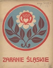 Zaranie Śląskie, 1910, R. 3, z. 2