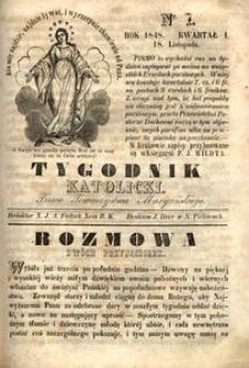 Tygodnik Katolicki, 1848, nr 7