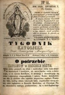 Tygodnik Katolicki, 1848, nr 11