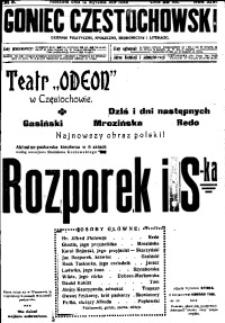 Goniec Częstochowski, 1919, R. 14, No 9