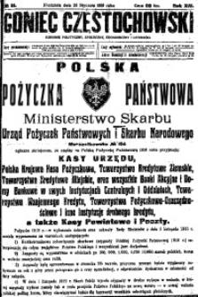 Goniec Częstochowski, 1919, R. 14, No 21