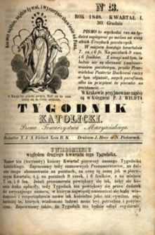 Tygodnik Katolicki, 1848, nr 13
