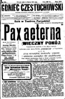 Goniec Częstochowski, 1919, R. 14, No 53