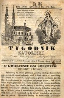 Tygodnik Katolicki, 1849, nr 34