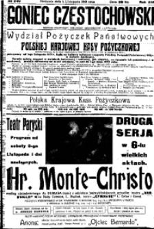 Goniec Częstochowski, 1919, R. 14, No 249