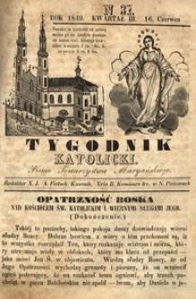 Tygodnik Katolicki, 1849, nr 37