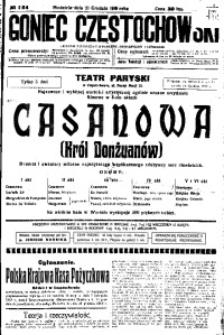 Goniec Częstochowski, 1919, R. 14, No 284