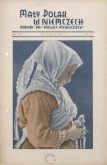 Mały Polak w Niemczech, 1937, R. 12, Nr. 3