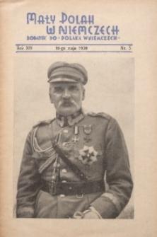Mały Polak w Niemczech, 1939, R. 14, Nr. 5